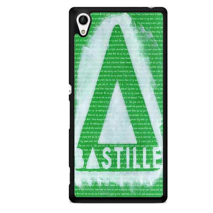 Bastille Band Logo TATUM-1371 Sony Phonecase Cover For Xperia Z1, Xperia Z2, Xperia Z3, Xperia Z4, Xperia Z5
