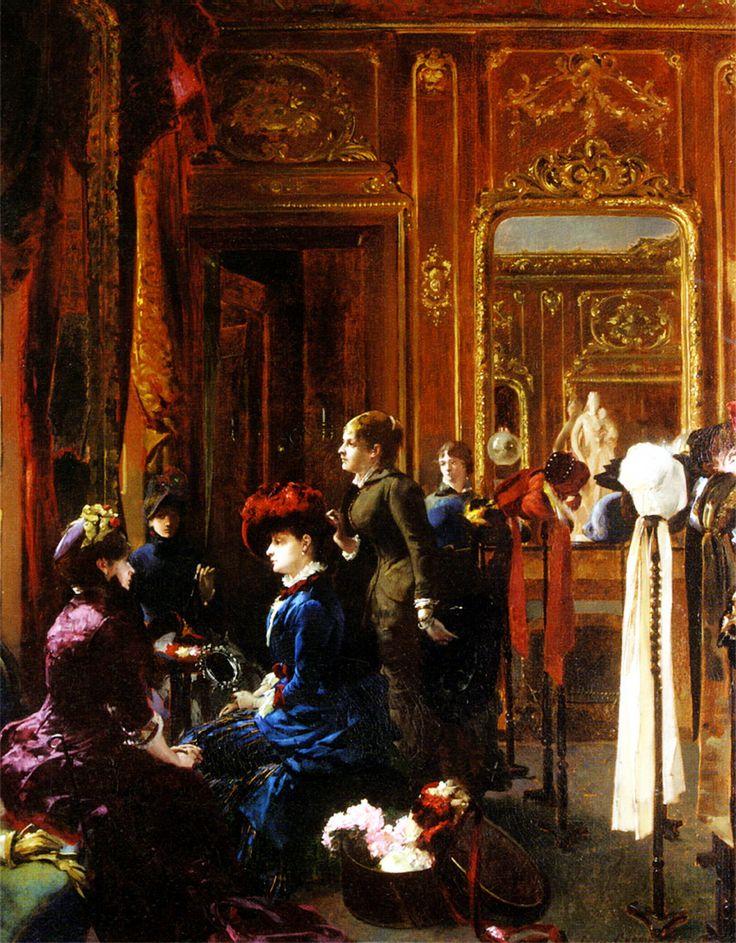 Carrier belleuse un salon de modes par s belle - Salon de the paris 9 ...