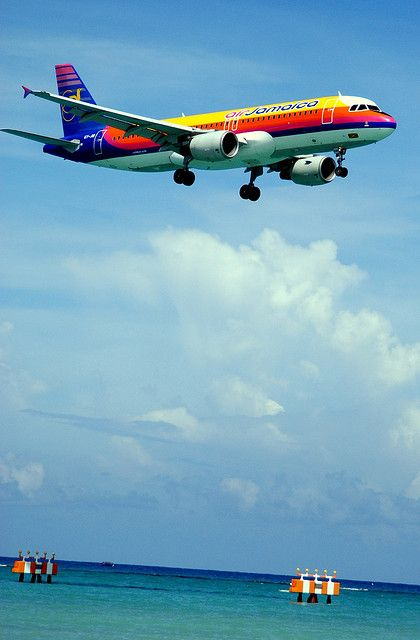 air Jamaica coming in from the cold. Welcome home. I miss you.