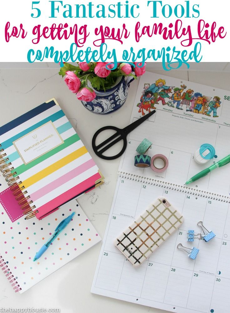 My Favourite Organizing Tool: My Emily Ley Simplified Planner - The Happy Housie