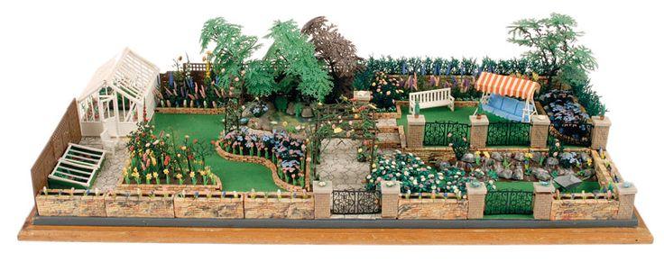 Britains - Floral Garden Range - Retailer Display | Vectis Toy Auctions