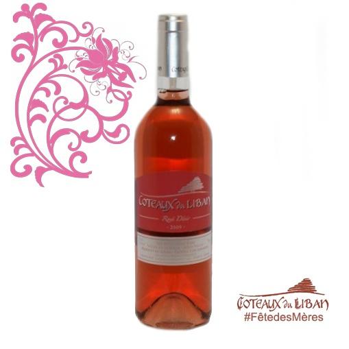 Votre #mère est une #émotive? Il lui faut le #rosé #désir 2012 de @CoteauxduLiban