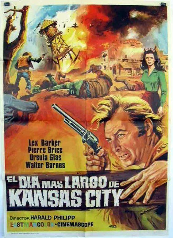 El día más largo de Kansas City 1966, con Lex Barker, Pierre Brice, Götz George, Uschi Glas,