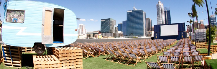 Rooftop Movies  Perth / Australie