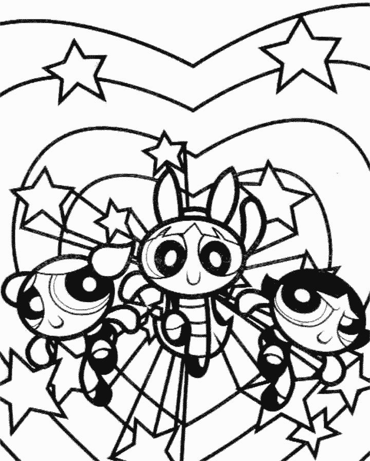 8 best ppg rock'n'roll images on pinterest | punk, cartoon network ... - Coloring Pages Powerpuff Girls