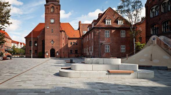 Square in Copenhagen