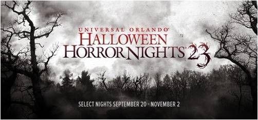 Universal Studios Orlando has Halloween Horror nights!!