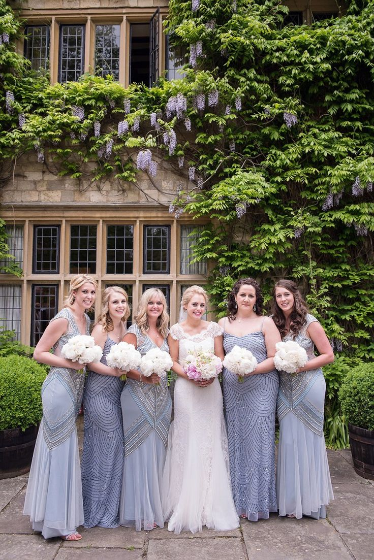 842 best wedding bride bridesmaid style images on pinterest brides in different hues of grey long bridesmaid dresseswedding bridesmaidsblue gold weddingpink lipstickspink ombrellifo Images