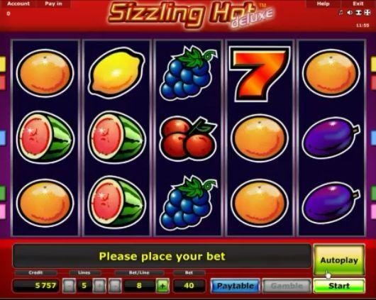 Sizzling Hot slot online