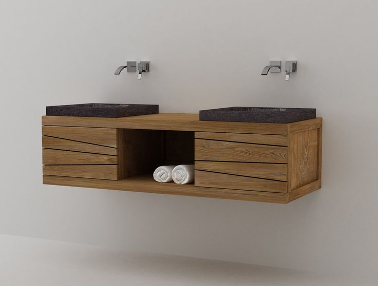 Muebles De Baño Water:Metal Drum Sink