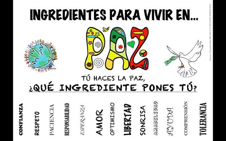 ingredientes para vivir en paz