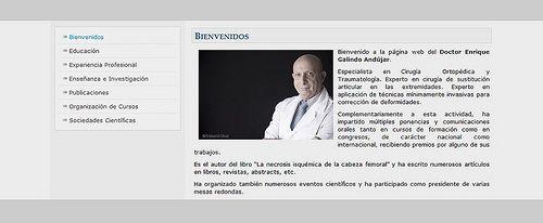 Professional portrait of doctor for website Retrato profesional para medico para pagina web de Edward Olive fotografo