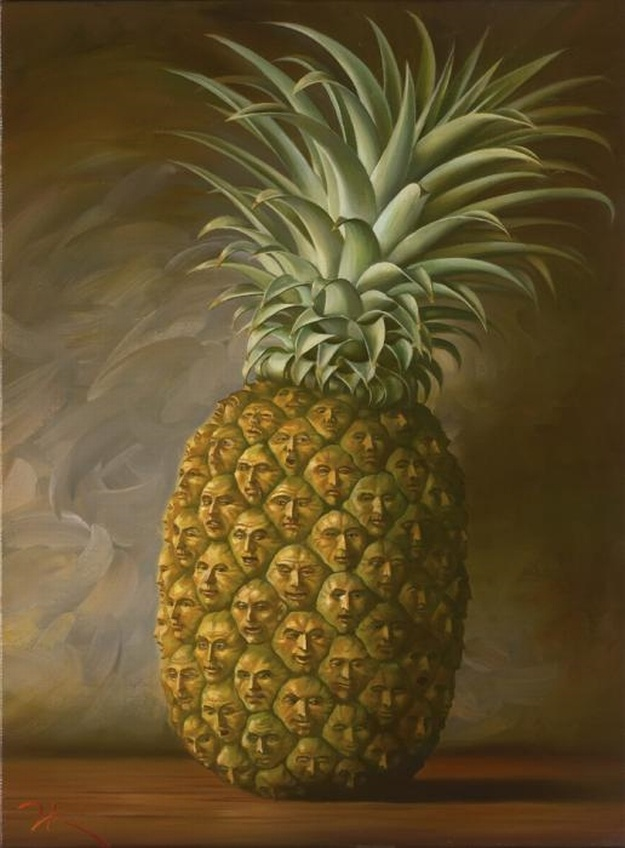 L'ananas fait la tête !
