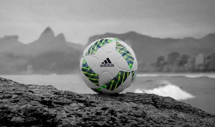Bola é inspirada no cotidiano carioca e tem detalhes em verde e amarelo  continue lendo em Errejota bola oficial para as Olimpíadas de 2016 inspirada no Rio de Janeiro