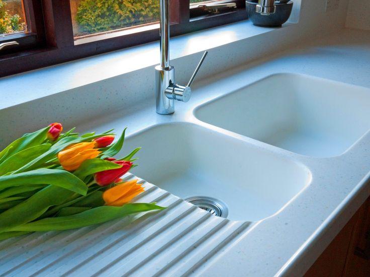 873 corian sink in glacier white worktops are whitecap corian - Corian Dusche Osterreich
