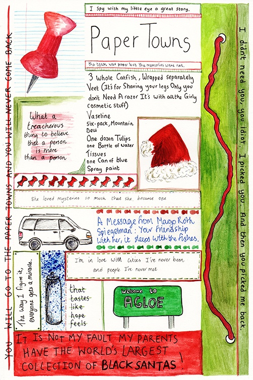 from Paper Towns by John Green | Little Nerdfighter Things