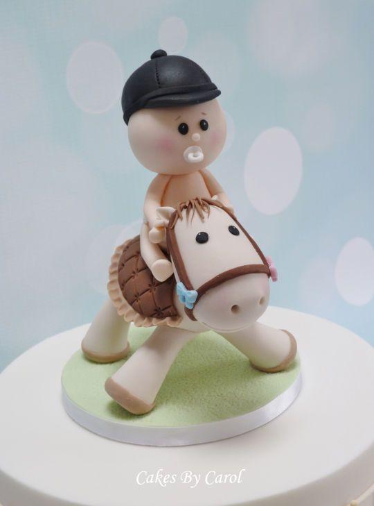 Baby Shower Horse topper