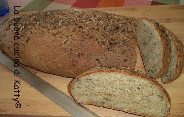 La buona cucina di Katty: Pane ai 5 cereali bio