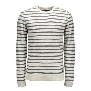 Gsus striped sweat, White Offwhite, medium