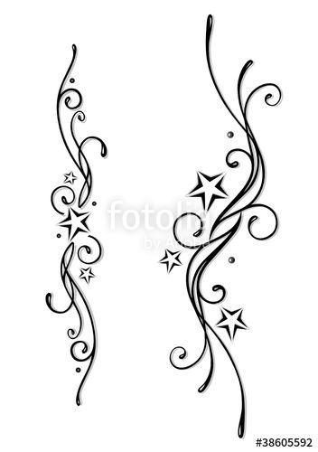 """Laden Sie den lizenzfreien Vektor """"Tattoo, Tribal, Sterne, stars, vector set, black & grey"""" von christine krahl zum günstigen Preis auf Fotolia.com herunter. Stöbern Sie in unserer Bilddatenbank und finden Sie schnell das perfekte Stockbild für Ihr Marketing-Projekt!"""