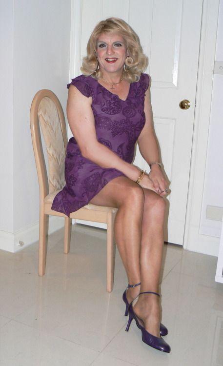Transvestites in drab at waterloo
