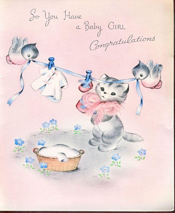 Собаки с новорожденным открытка