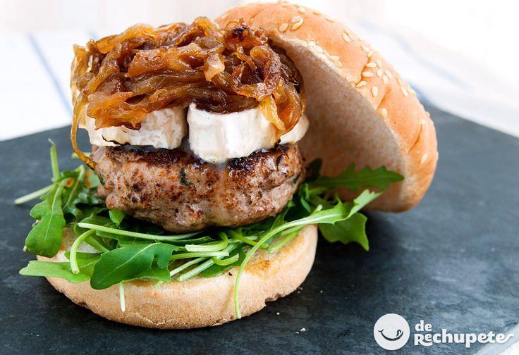 Cómo preparar una hamburguesa de ternera casera con todo lujo de detalles y consejos, para que logréis la burguer perfecta. Preparación paso a paso y fotos.