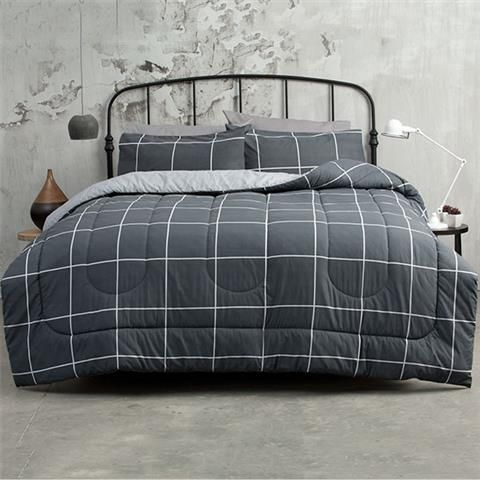 Graphite Print Comforter Set - Queen | Kmart