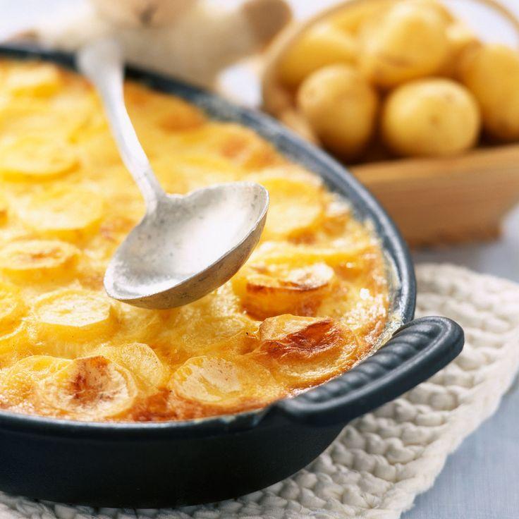Découvrez la recette Gratin dauphinois de ma grand-mère sur cuisineactuelle.fr.