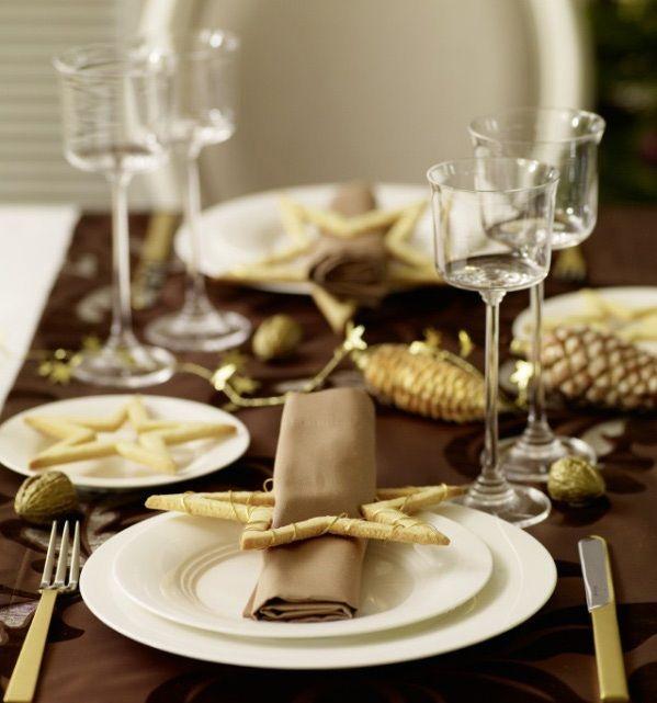 Tischdeko weihnachten gold  57 besten Tischdeko für Weihnachten Bilder auf Pinterest ...
