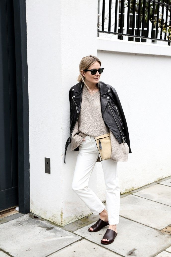 2 Blogger-Approved Ways to Style Black Leather Jackets This Spring
