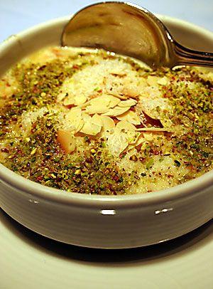 LEBANESE RECIPES: Om Ali Recipe - How to Make Om Ali. courtesy of Homemade-Recipes Blogspot, an excellent Lebanese recipe site.