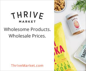 Thrive Market is an online marketplace, offering the world's bestselling natural and organic, non-perishable products at wholesale prices. Think Costco meets Whole Foods, with the convenience of online shopping through Amazon.