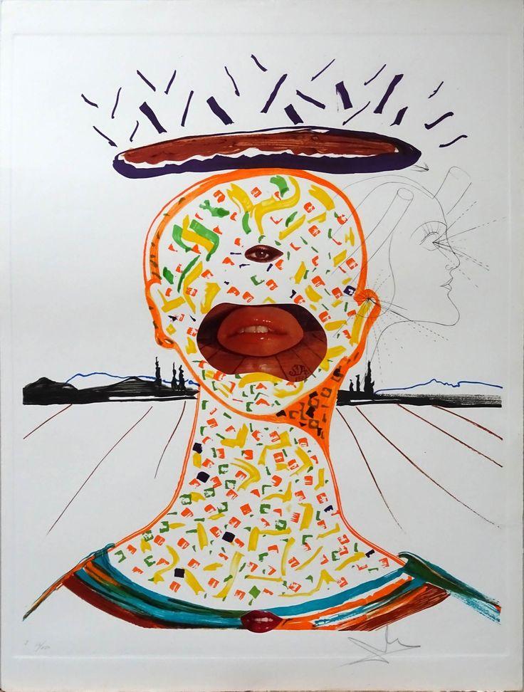 """Salvador Dalí: """"Cyclopean Make-Up"""" I 16/250 - Subasta Real"""