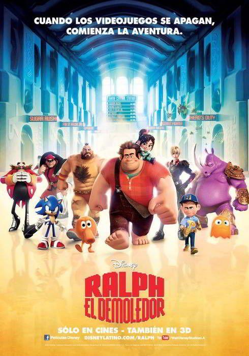 ver Ralph El Demoledor (Rompe Ralph) 2012 online descargar HD gratis español latino subtitulada