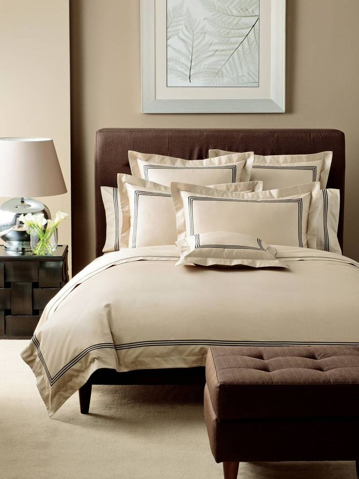 #QUILTCOVER SETS PEMBROKE TAUPE QUILT COVER SET QUEEN