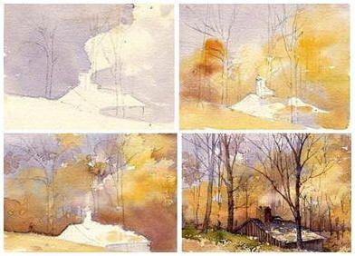 Best 25+ Watercolor landscape paintings ideas on Pinterest ...
