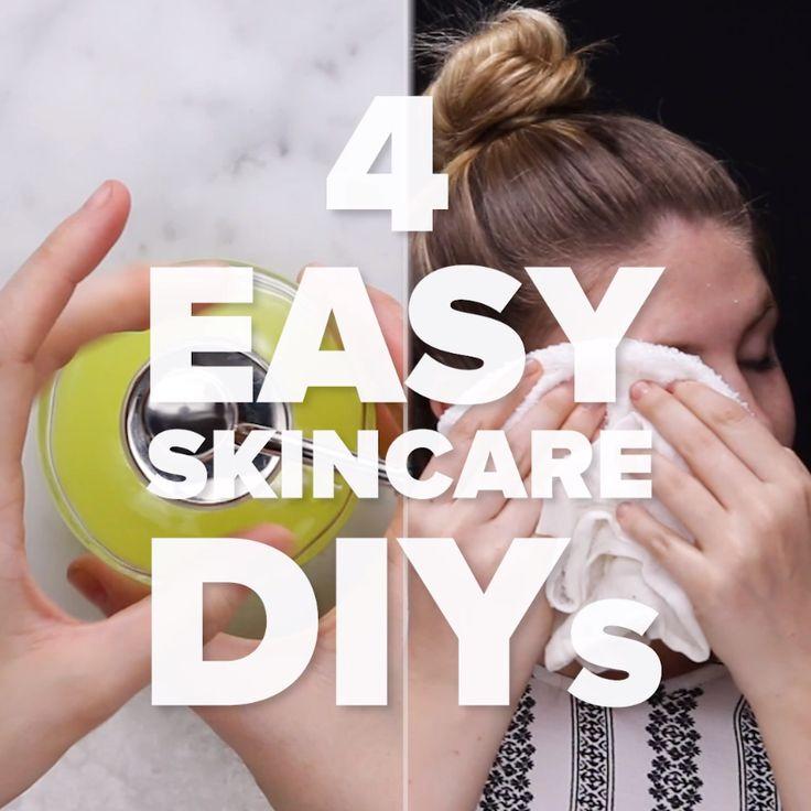 4 Easy Skincare DIYs // #selfcare #skincare #DIYs
