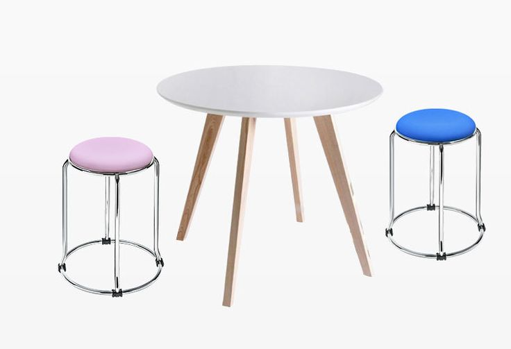 coffee stool pu leather seat stainless steel frame white black red green purple Khaki ect color children stool