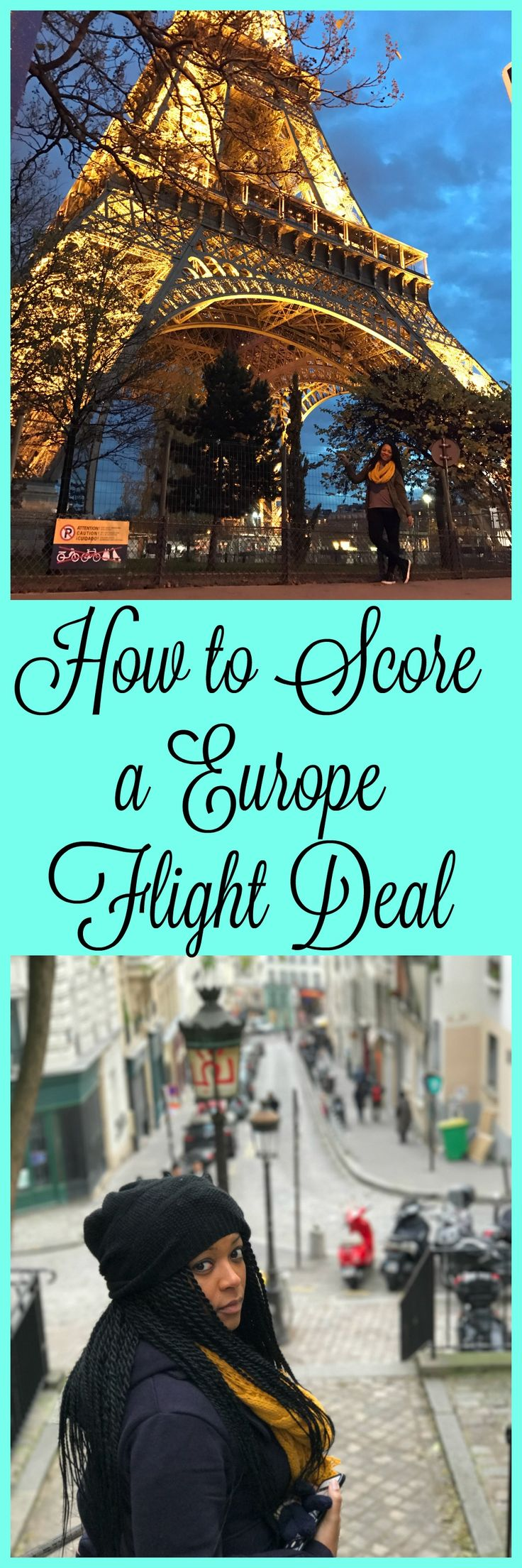 How to Score a Flight Deal to Europe. #Travel