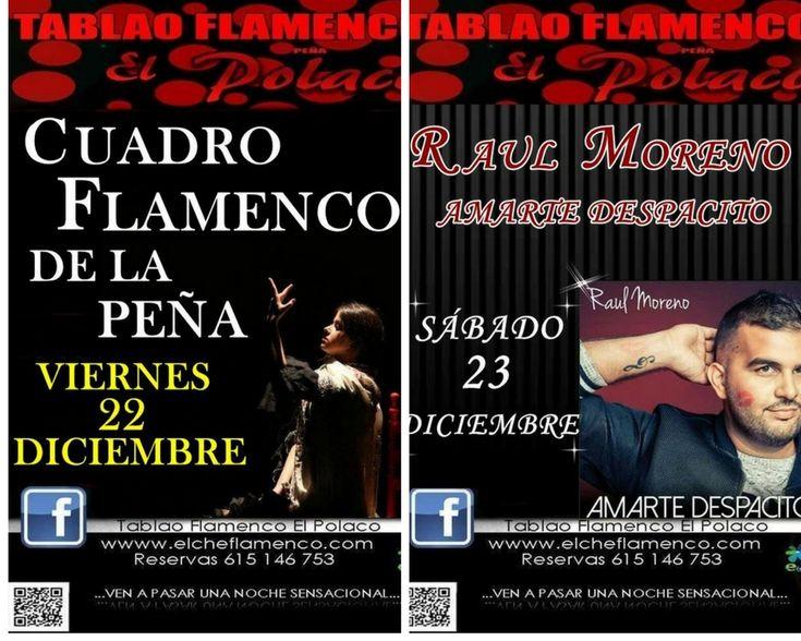 """Programacion Navidad  Tablao Flamenco ·El Polaco"""""""