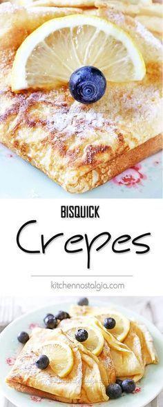 Bisquick CREPE Recipe 030118