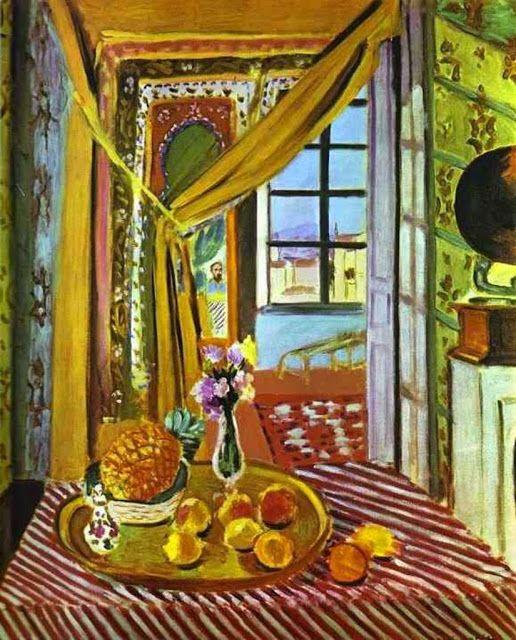 Henri Matisse - Interior with Phonograph, 1924