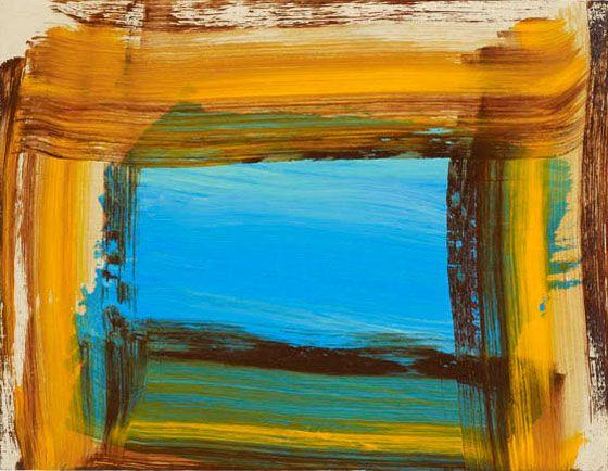 Howard Hodgkin, courtesy Gagosian Gallery artnet.com