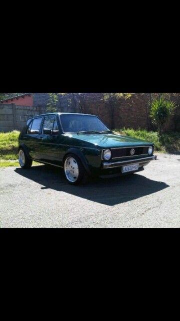 Vw cit golf Mk1 old school pimped out S.A style