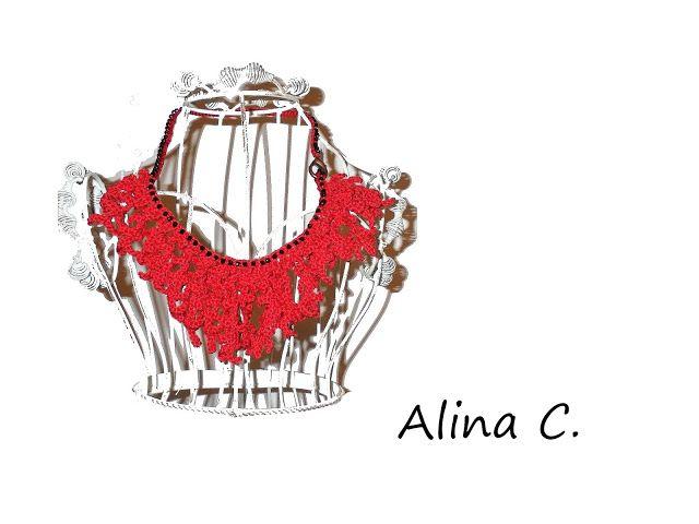 lo spazio di lilla: Il gioiello per l'estate: la collana di corallo rosso lavorata a crochet / The best jewel for summer: the crochet red coral necklace