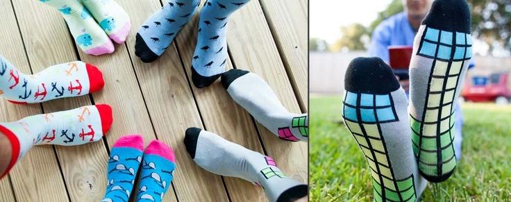 Foot Cardigan - A sock subscription for random socks, crazy socks, and novelty socks.  I want.