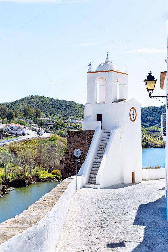 Torre do Relógio in Mértola,Portugal by shootdiem on @creativemarket