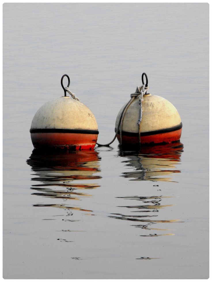 buoys--these look great in your beach decor