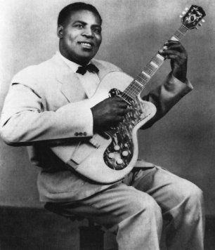 Chester Burnett AKA Howlin' Wolf was one of the greatest blues artists of all time. Description from bobcorritore.com. I searched for this on bing.com/images